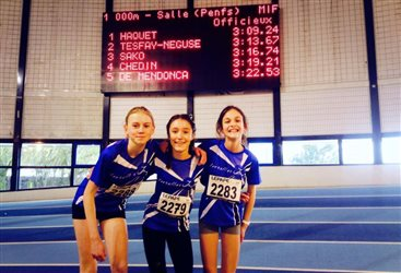 Des records qui tombent au 1000m